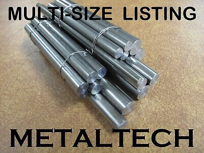 6060/6061 Aluminium Rod Solid Round Bar. Dia 8 to 60 mm, L=100 to 1600 mm
