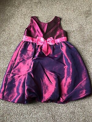 Girls 7-8 Years Dress Purple  Party Festive Christmas H&M S/N132