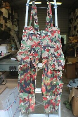 VERY RARE West German 1955 Leibermuster Camo Overalls YOU MUST READ!!