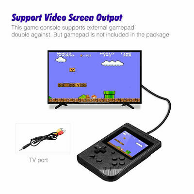 Handheld Game Console w/ 400 in 1 Games For Nintendo Portable Retro Game Gifts