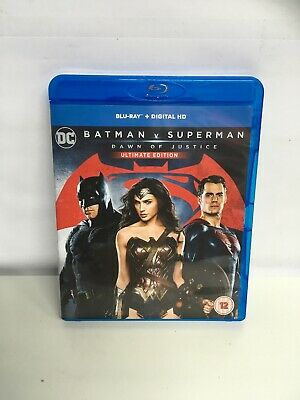 Batman V Superman - Dawn of Justice: Ultimate Edition (Blu-ray) New UNSEALED.