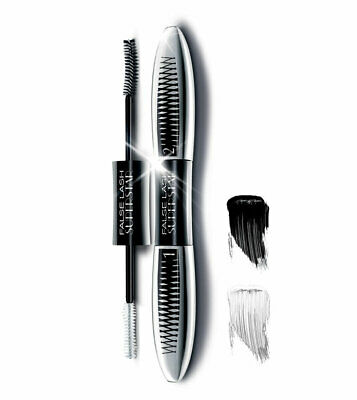 L OREAL MASCARA DUO SUPERSTAR FAUX CILS fibres EFFET PUSH UP NOIR VAL 26€