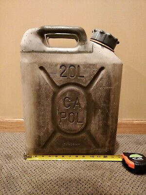Scepter Military 20 liter plastic jerry can
