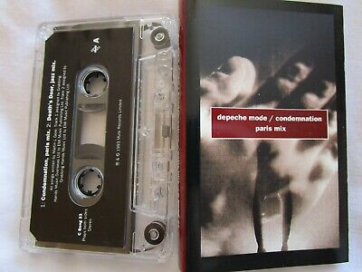 Depeche Mode Condemnation (Paris Mix) Mute C BONG 23 Audio Tape Cassette Single