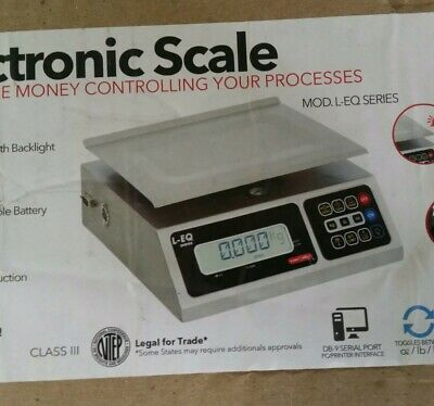 TorRey PZC-10//20 Portion Control Scale with footprint 20 x 0.005 lb