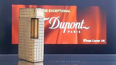 ST DuPont Lighter's Parts Line 1 Large Good  Condition X73