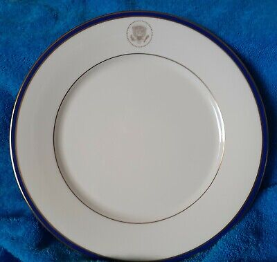 "Large 11"" White House Presidential China Lenox -  Clinton Dinner/Charger Plate"