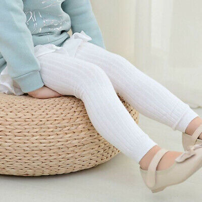 0-5 Years Kids Pantyhose Tights Stockings Cotton Solid Socks Baby Girls Toddler