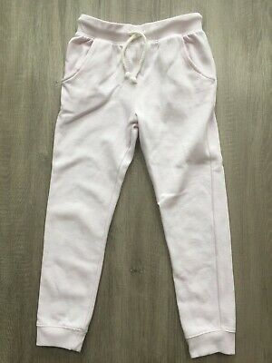 Next Girls Light Pink Tracksuit Bottoms Joggers Trousers 8 Years