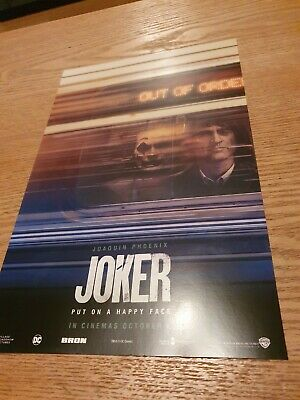Brand New Limited Edition Odeon Exclusive Joker A4 Poster