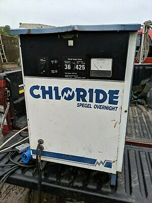 Chloride Spegel Overnight Forklift Battery Charger 36 / 425