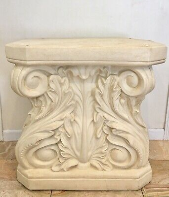 Pair Of Wood Column Pedestals Louis Xv French Style 40