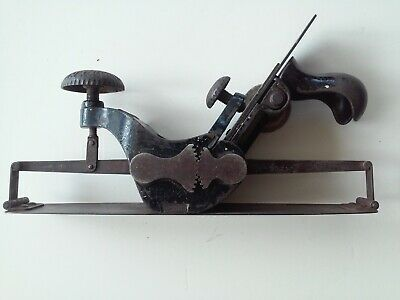 Stanley No.113 Circular Compass Plane Type 1877 Woodworking Tool Great Condition
