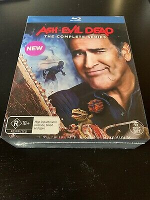 Ash Vs Evil Dead The Complete Series Blu Ray SEALED