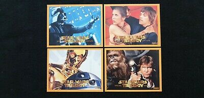 Star Wars Trilogy Special Edition 1997 - Full Set (4 Cards)