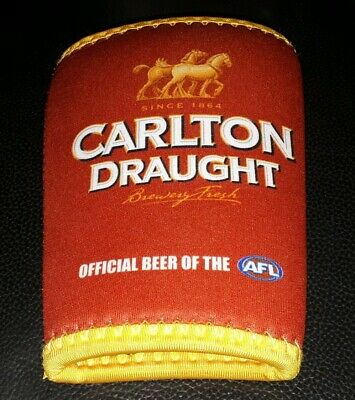 Rare Collectable Carlton Draught Beer Stubby Holder In Near New Condition