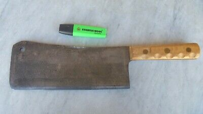 Vintage OX-HEAD W.GERMANY BUTCHERS MEAT CLEAVER 25.5cm BLADE