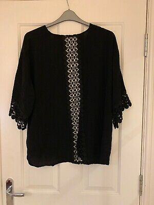 Blooming Marvellous Maternity Mothercare Size XL (UK 16/18) Black 3/4 Sleeve