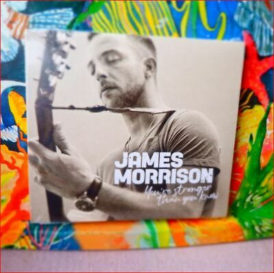 """James Morrison New Sealed 2019 Fast Freepost """"You're Stronger Than You Know"""" CD"""