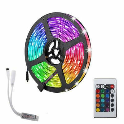 5m Flexible Bright LED Strip Lights 12V Waterproof 5050 SMD Cool White 300 LEDs