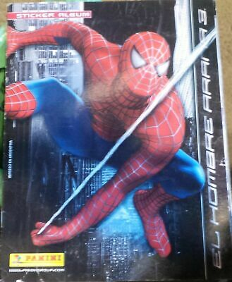 Spiderman 3 Panini sticker Album de argentina larin america edition
