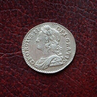 George II 1740 silver maundy twopence
