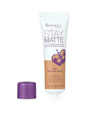 Rimmel London Stay Matte Liquid Mousse Foundation 30Ml - 400 Natural Beige