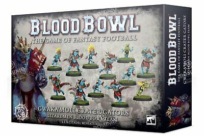 Blood Bowl: Gwaka'moli Crater Gators - Games Workshop 5011921126156
