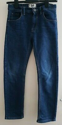 MATALAN Boys Adjustable Waist Stretch Jeans Size 11 yrs