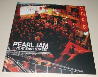 New sealed Sept. 13 2019 release black vinyl LP PEARL JAM LIVE AT EASY STREET