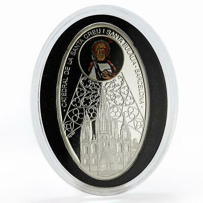 Niue 2011 Cathedrals Cracow Colour Silver Coin,Proof