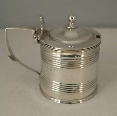 George III Solid Silver Mustard - London 1812