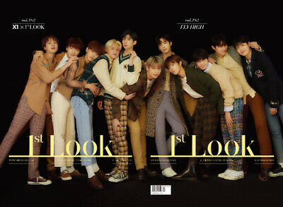 1St Look First Look Sep 2019 Vol.182 X1 Type B Korea Tabloid Magazine New