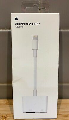 Genuine Apple Lightning to Digital AV Adapter (HDMI) -  MD826AM/A