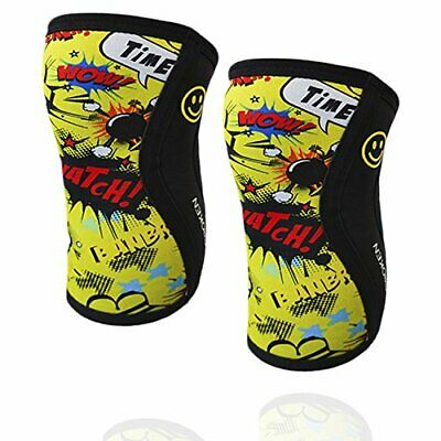 BB BANBROKEN Rodilleras Yellow Fun (2 unds) - 5mm Knee Sleeves - (M)