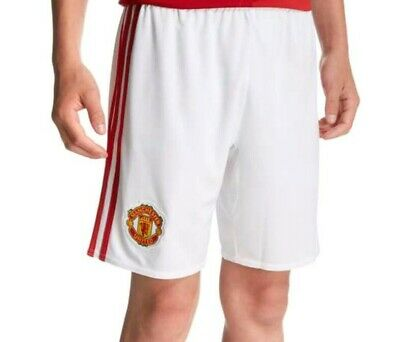 Adidas Manchester United Home Shorts 2016/17 Age 11-12 Years AI6712 BNWT
