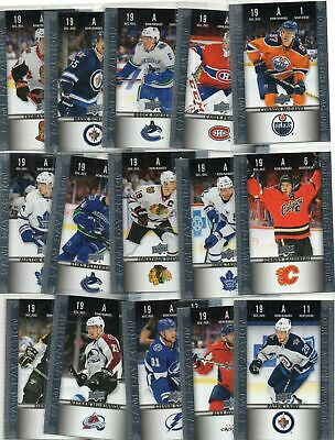 2019-20 TIM HORTONS HGD .50 cent Hockey card u pick TWO Cards for .99cents CHEAP