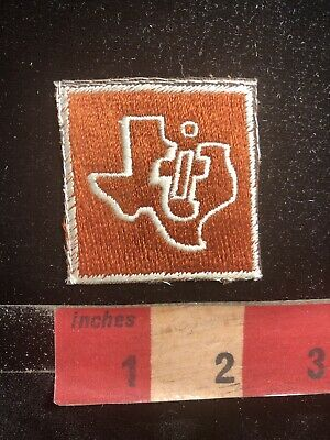 Vintage Texas Instruments TI Advertising Patch - Manufacturing Company C99F