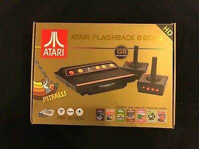 Atari 2600 Flashback 8 Gold HD Classic Video Game Console * BRAND NEW HDMI