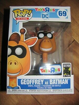 FUNKO Pop Ad Icons #12 GEOFFREY Toys R Us Exclusive Golden Ticket NEW in hand