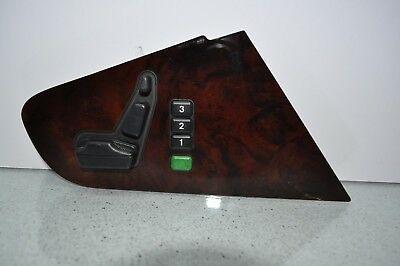 99 Mercedes CL500 COUPE SEAT SWITCH right Wood 140 820 0610