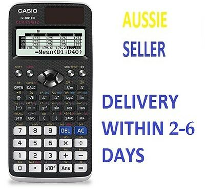 Casio FX-991EX Scientific Calculator FX 991 EX Classwiz 552 function NEW