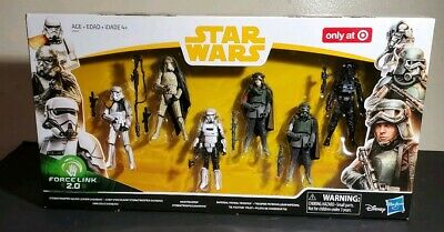 Star Wars Force Link 2.0 Solo Mimban Stormtrooper Target Exclusive Free S/H