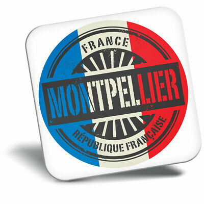 Awesome Fridge Magnet - Montpellier France French Flag Cool Gift #6024