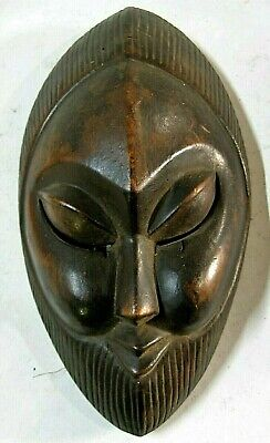 Ancient African Tribal Mask From Nigeria  #2007