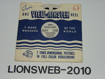View Master Reel 5607 - General Scenes Philippine Islands - Scheibe