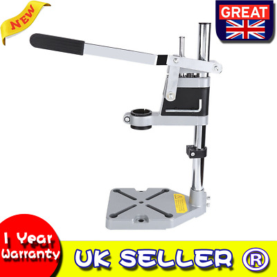 Manual Power Drill Press Bench Stand Workbench Pillar Clamp Drilling Repair Kit