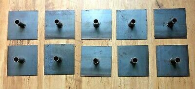 10 x Scaffolding Tower Base Plates,   ( Fittings/Clamps/Couplers/Clips ) Bargain