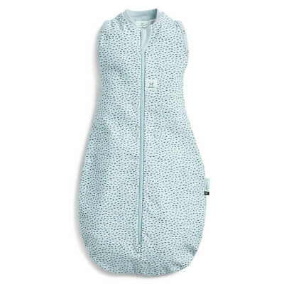 ErgoPouch Cocoon 0.2 Tog Swaddle Bag Organic Cotton  - Pebble 2 sizes  New