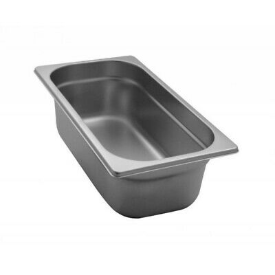 Pan Gastronorm Containers Stainless Steel Gn 1/3 Height 10 CM
